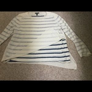 Eileen Fisher striped sweater - Size L